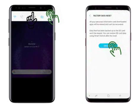 Reset Pattern lock: Samsung Galaxy S9 and S9+ - UnlockPlus Blog